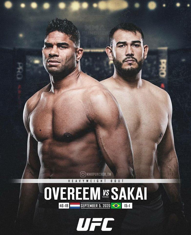 UFC kicks off September with a battle between heavyweight ...